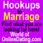 World of on line dating
